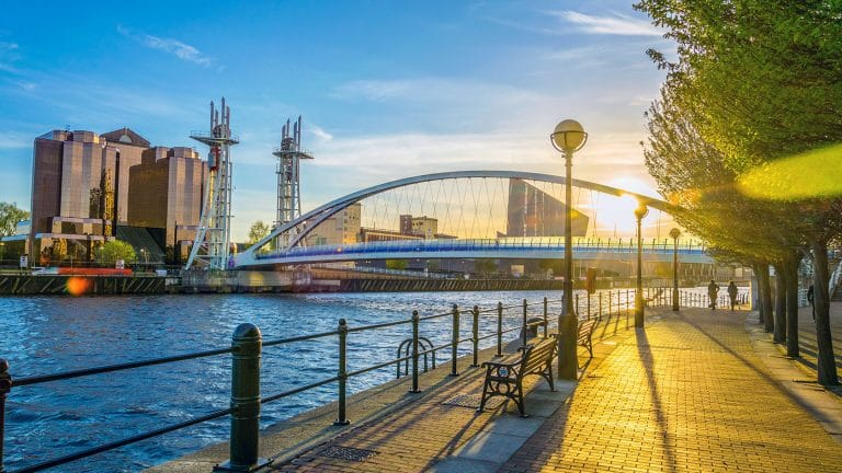 Salford Quays and Lowry Centre